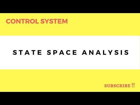 LEC -17-Control Systems state space analysis