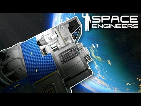 GOING TO SPACE! - Space Engineers Gameplay - Space Survival Game |