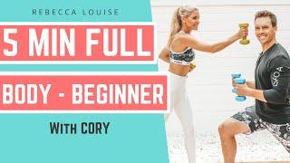 BOYFRIEND CHALLENGE with Cory Scott - FULL body workout   Rebecca Louise
