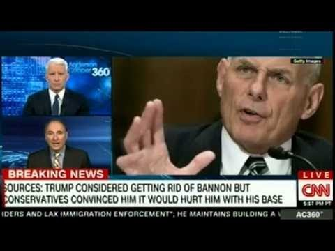 TRUMP CONSIDERED GETTING RID OF BANNO... ON CNN Breaking News