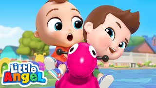 Play Nice At The Playground | Good Manners Song | Little Angel Kids Songs