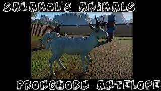Salamol's Animals: Planet Zoo's White Pronghorn Antelope