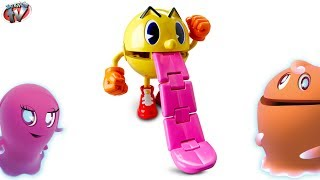 PAC MAN & The Ghostly Adventures Ghost Grabbin' Pac Pac-Man TOYS Video Review