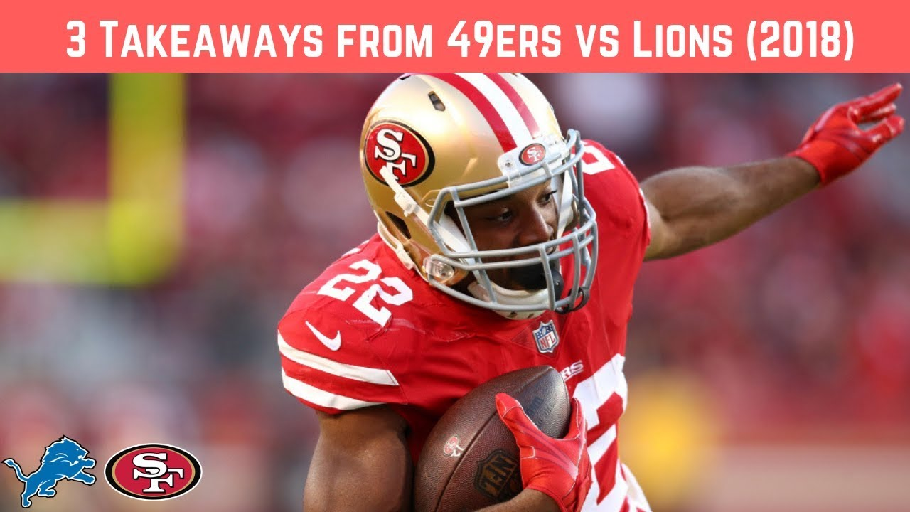 Strong Start, Shakey Finish; Takeaways from 49ers Victory Over Lions