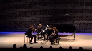 Aram Khachaturian: Trio for Clarinet, Violin and Piano - 3rd mov