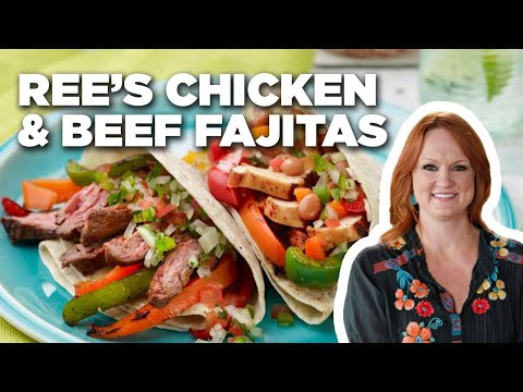 How To Make Rees Mixed Grill Tex Mex Fajitas Food Network Youtube
