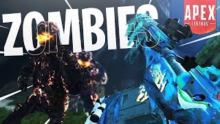 NEW Solo Zombies Mode on Apex Legends! - PS4 Apex Legends