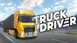 FIRST LOOK - New Truck Driving Simulator for PS4, XBOX, & PC | Truck Driver Simulator Gameplay