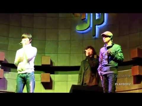 BEAST B2ST(비스트) 비가오는날엔 cover live - 진수(JINSOO)