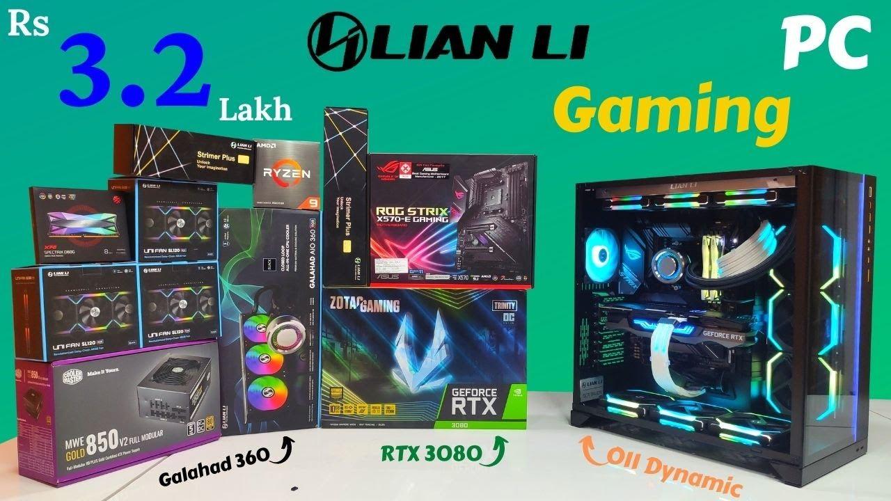 Rs 3.2 Lakh Lian Li Based Gaming PC | RTX 3080 | | Mr Pc Wale