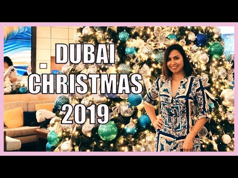 CHRISTMAS 2019 🎄🎉| TOP FESTIVE MARKETS & CELEBRATIONS IN DUBAI | MICHEL UMABAL
