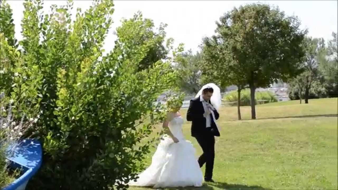 mariage nathalie et fabien entr e des mari s surprise 21 09 13 youtube. Black Bedroom Furniture Sets. Home Design Ideas