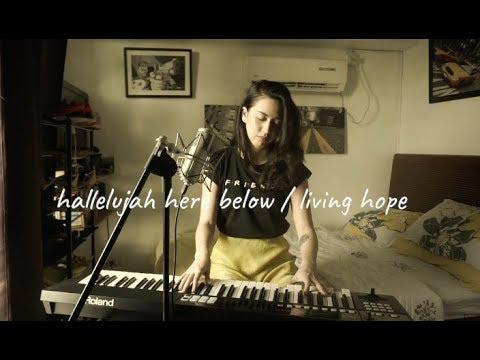 Hallelujah Here Below / Living Hope (Worship Mashup) | Acoustic Cover | Julz Savard