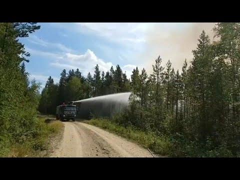 فيديو: موجة حر تضرب أوروبا وتؤدي إلى حرائق في السويد  - نشر قبل 1 ساعة