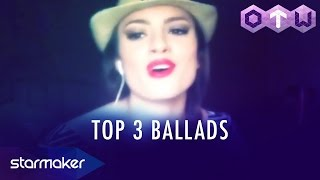Bruno Mars Miley Cyrus - Sam Smith - StarMaker 39 s One To Watch Top 3 Ballad Cover Songs.mp3