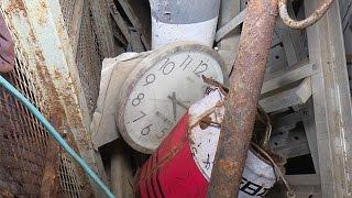 福島第1原発、事故から5年=がれき散乱し惨状残る4号機1階撮影