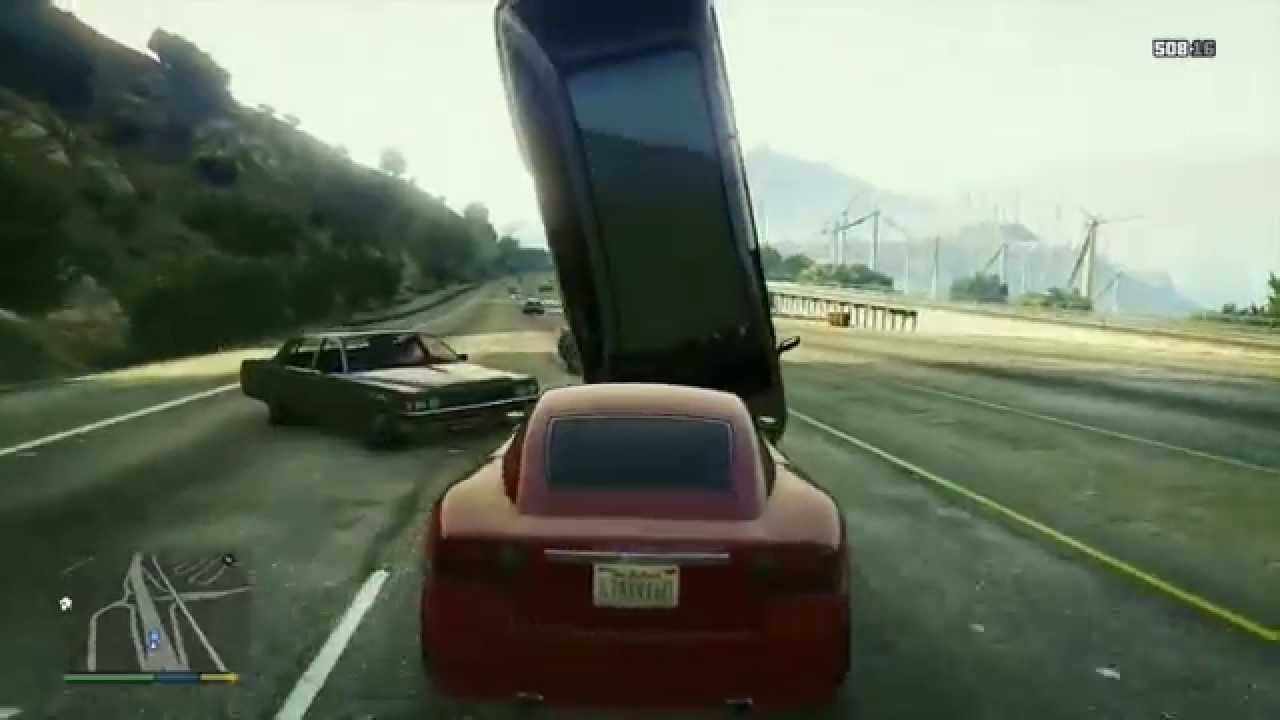 Best Car Crash Compilation #1 in Grand Theft Auto 5 (GTA V) - YouTube