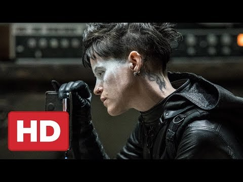 The Girl in the Spider's Web First  2018 Claire Foy, Sylvia Hoeks, Stephen Merchant