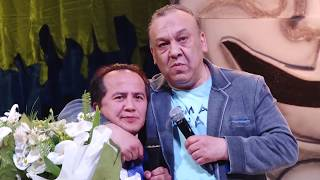 Shukurullo Isroilov va Valijon Shamshiyev - Mirzabek Xolmeodv bizning ustozimiz (Mirzo teatri 2016)