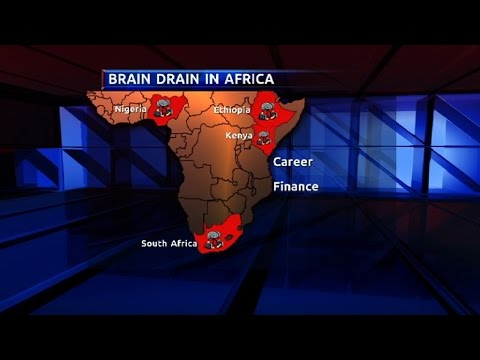 Skills migration brain drain for Africa