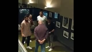 Virat kohli Funny Dance With Coach