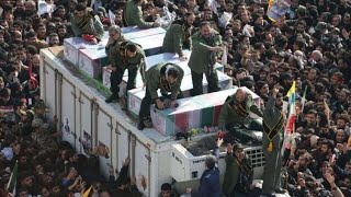Mourners pack Tehran's streets as U.S., Iran exchange new threats