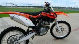 $7,999: 2014 KTM 250SXF 4 Stroke Motocross Bike Overview and Review