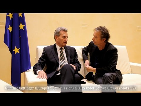 Günther Oettinger - Interview Copyright - by Alexander Louvet - Powershoots TV