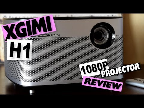 XGIMI FULL 1080P DLP 3D HOME PROJECTOR: H1 HARMAN KARDON SPEAKER SYSTEM