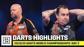 HIGHLIGHTS | 2019/20 Darts World Championships: Day 2
