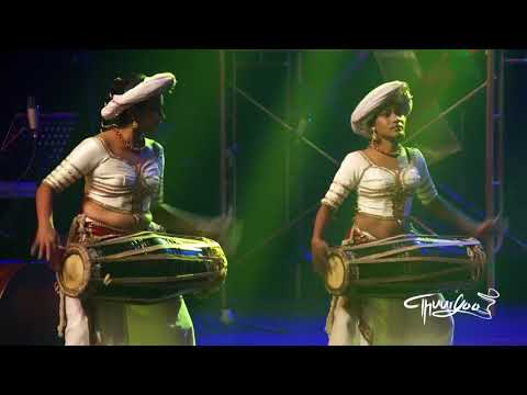 Sri lankan Drummers Thuryaa - All female drums ensemble - Atthya bera