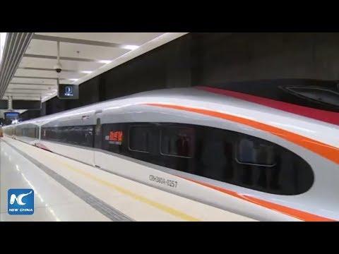 High-speed rail link starts trial operations between Hong Kong and Guangdong