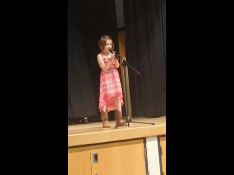 My baby girl singing fly by maddie and tae