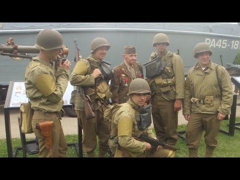 First Division Museum at Cantigny - John Bistrica - D-Day Omaha Beach: First Assault Wave Easy Red