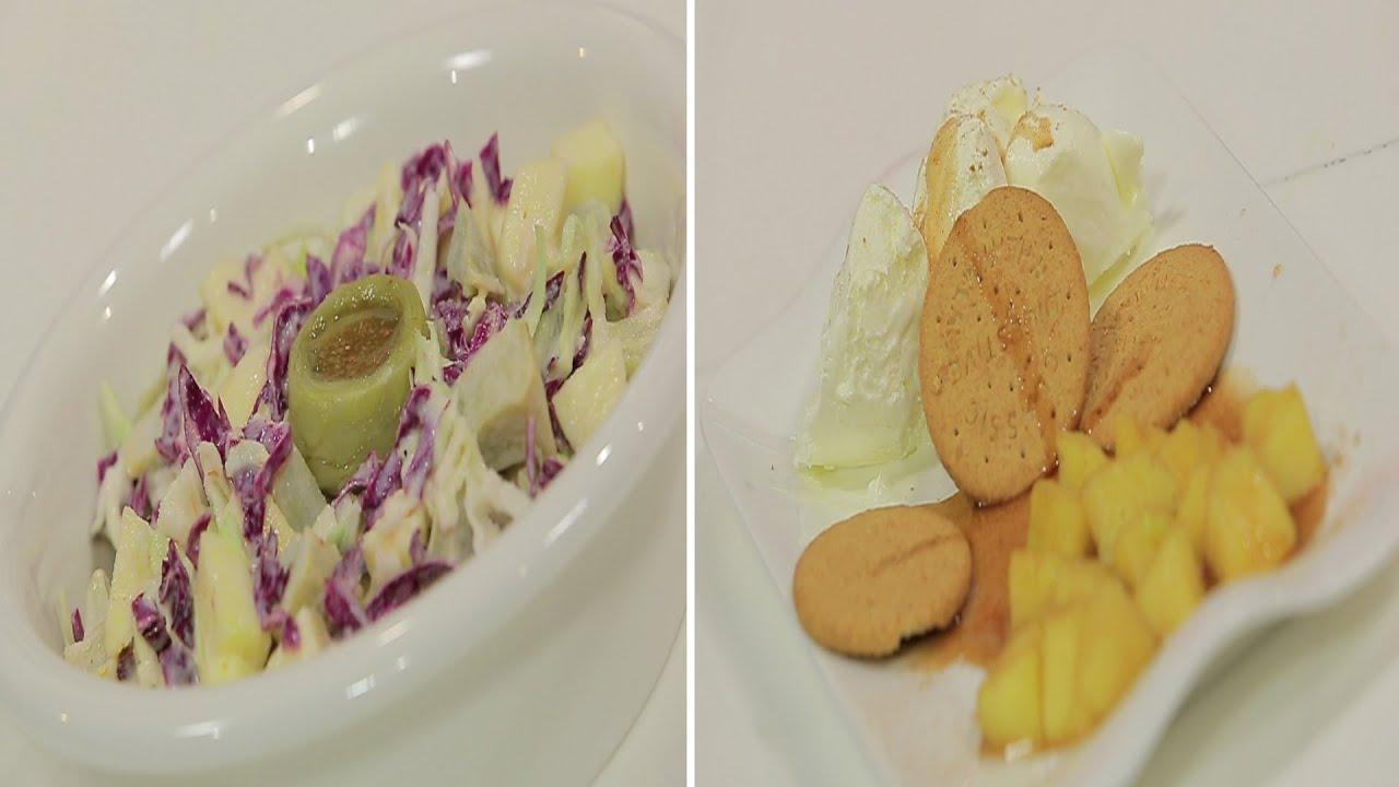 سمك سلمون علي البخار مع الخضروات و وصفات أخرى : طبخة ونص الحلقة كاملة