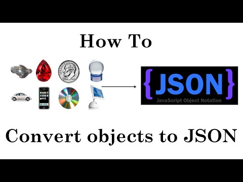 How To Convert Objects To JSON