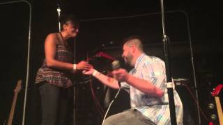 Twin Shadow - Proposal on stage