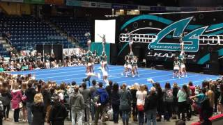 Repeat youtube video Cheer Sport Great White Sharks Showcase 2016/2017