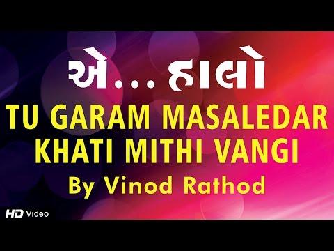 Tu Garam Masaledar | Vinod Rathod | Non Stop Gujarati Garba Song | Aye Halo