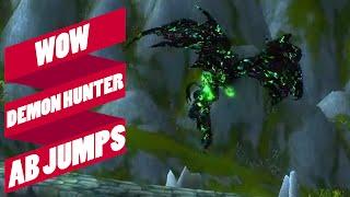WoW: Demon Hunter AB Jump Compilation