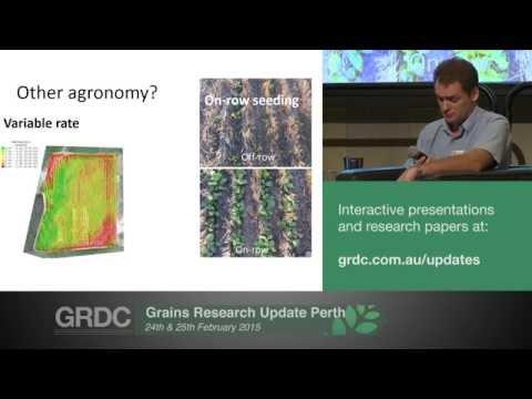 Agribusiness Crop Updates 2015   Perth   Wheat: non-wetting soil options - Zaicou-Kunesch & Davies
