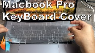 Gambar cover Macbook Pro Touch Bar KeyBoard Cover | UPPERCASE GhostCover Premium Ultra Thin Keyboard Protector