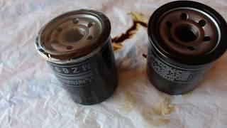 Сравнение масляных фильтров mitsubishi  MZ690115 и mitsubishi  MD360935