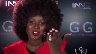 "Amara La Negra talks ""Self Confidence"" at the 2018 Glitz & Girlpower Awards!"