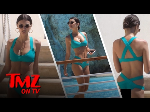 Emily Ratajkowski Has All The Right Proportions | TMZ TV