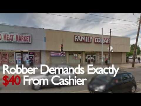 Thief Demands Exactly $40 From Family Dollar Cashier