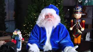 WestJet Christmas Miracle: Santa
