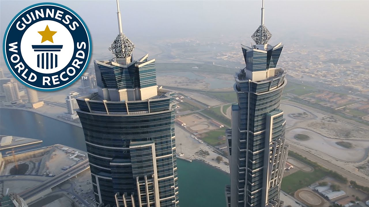 the tallest hotel guinness world records youtube