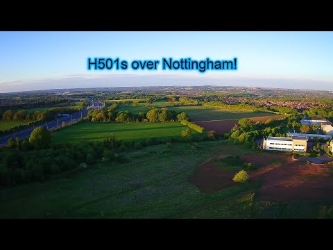 Фото Nottingham Business Park, Strelley, and Swingate with the Hubsan H501s!