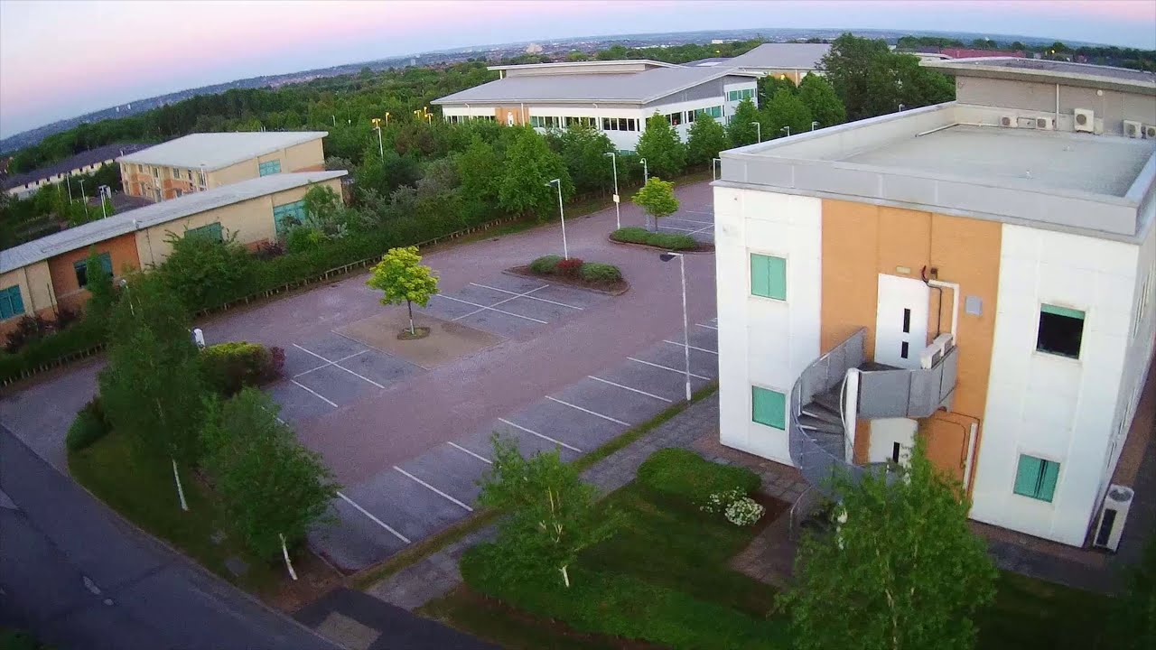 Nottingham Business Park, Strelley, and Swingate with the Hubsan H501s! картинки